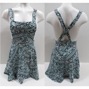 Rue 21 dress sleeveless geometric tribal pullover